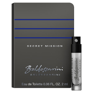 Baldessarini Secret Mission (Férfi parfüm) Illatminta 2ml