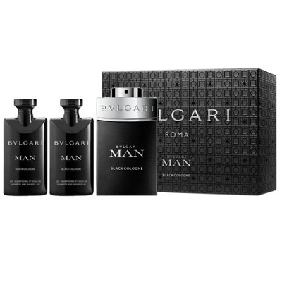 Bvlgari MAN Black Cologne (Férfi parfüm) Szett edt 60ml + tusfürdő 40ml + after shave balzsam 40ml